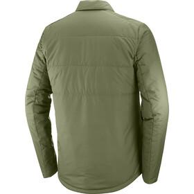 Salomon Snowshelter Sweat-shirt isolant Homme, olive night